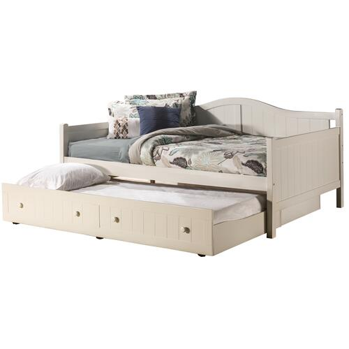 Hillsdale Furniture - Staci Complete Full-size Daybed With Trundle, White