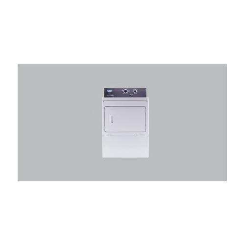 7.4 cu. ft. Commercial-Grade Residential Gas Dryer White