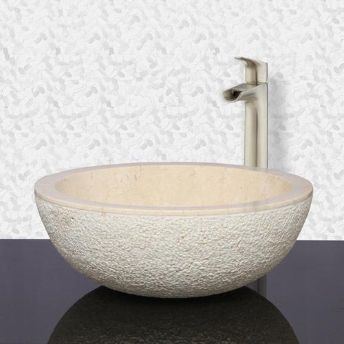 Lexa Above Counter Marble Basin