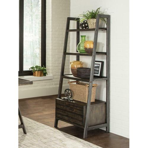 Product Image - Deponte Weathered Gunmetal Tapering Bookcase