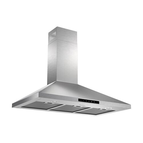 "36"" Wall Mount Chimney Range Hood"