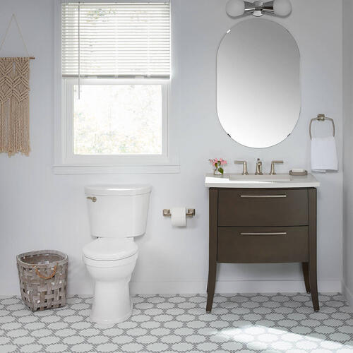 American Standard - Champion PRO Right Height Elongated Toilet - 1.28 GPF - White
