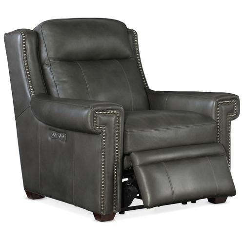 Living Room Mulberry PWR Recliner w/ PWR Headrest