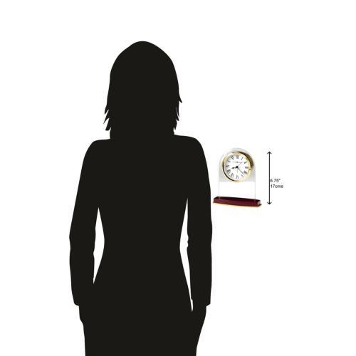 Howard Miller Anson Glass Table Clock 645786