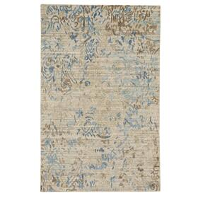 Goa Garden Blue Slate - Rectangle - 3' x 5'