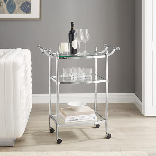 Powell Company - Bonney Chrome Cart