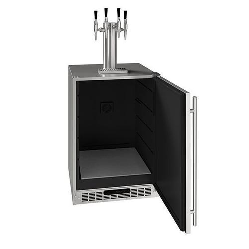 """24"""" 4 Tap Nitro Coffee Dispenser With Stainless Solid Finish (115 V/60 Hz Volts /60 Hz Hz)"""