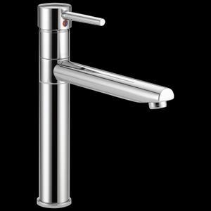 Chrome Single Handle Kitchen Faucet Product Image