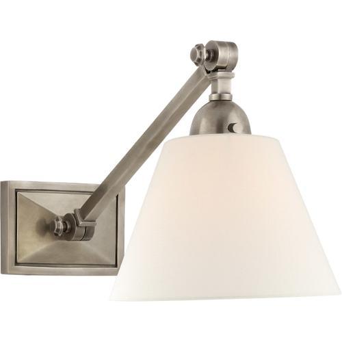 Alexa Hampton Jane 1 Light 8 inch Antique Nickel Single Library Wall Light
