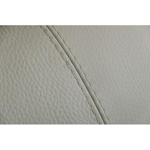 VIG Furniture - Estro Salotti Invictus - Modern Grey Leather Right Facing Sectional Sofa