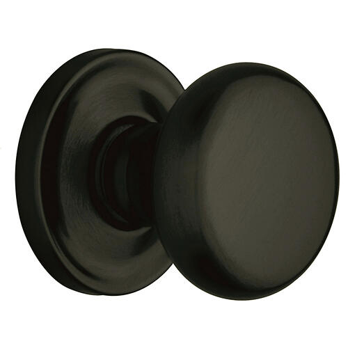 Satin Black 5015 Estate Knob