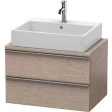 Vanity Unit For Console Compact, Cashmere Oak
