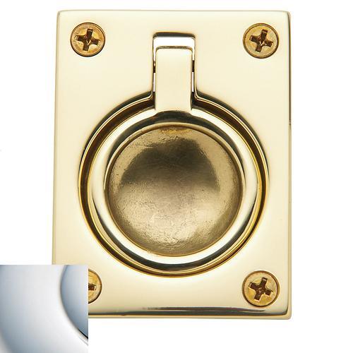 Polished Chrome Flush Ring Pull