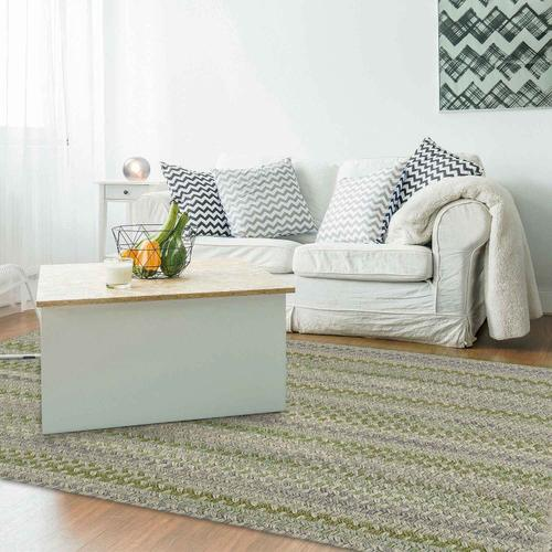 """Capel Rugs - Fusion Botanical Green - Oval - 11'4"""" x 14'4"""""""