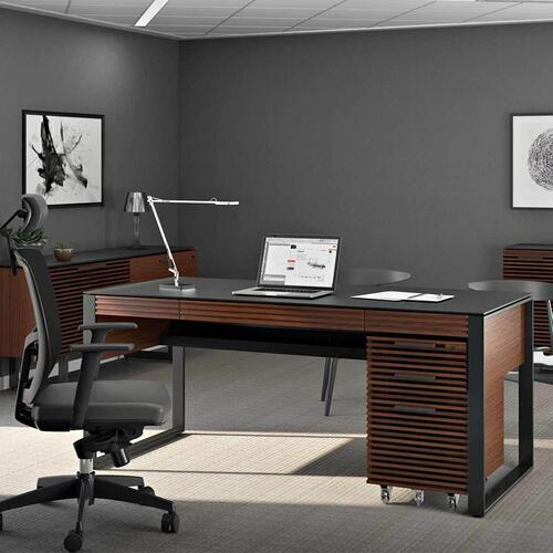 Desk 6521 in Chocolate Stained Walnut