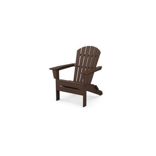 Polywood Furnishings - South Beach Folding Adirondack Chair in Mahogany