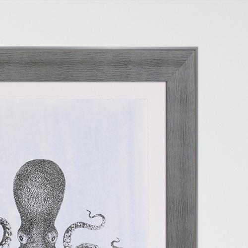 Silver Foil Octopus II