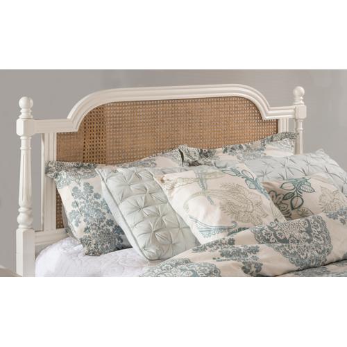 Melanie Queen Wood Bed, White