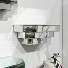 View Product - Mirrored Wall Shelf