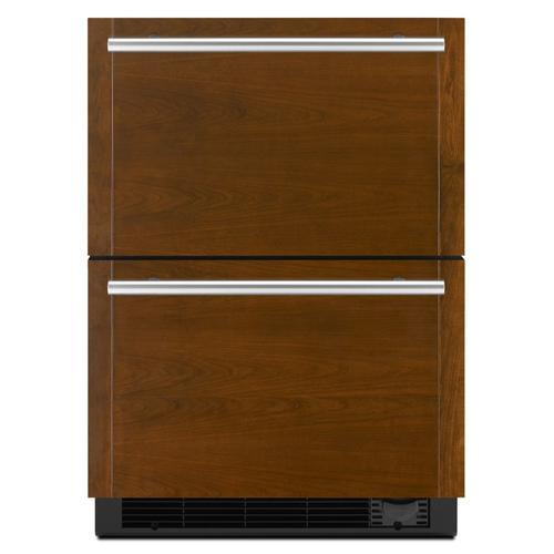 "JennAir - Panel-Ready 24"" Refrigerator/Freezer Drawers Panel Ready"