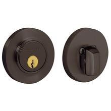 Venetian Bronze Contemporary Deadbolt