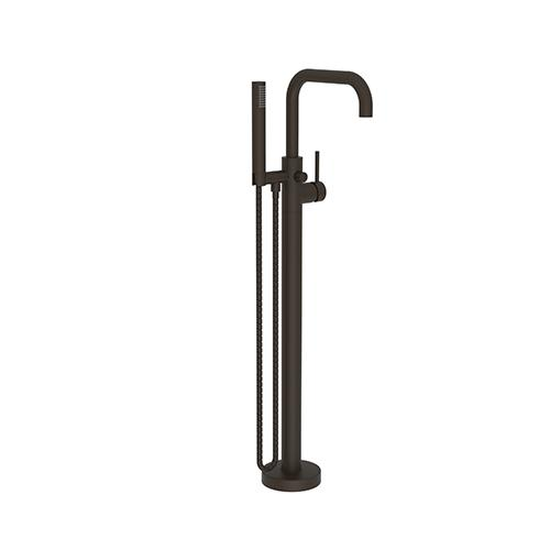 Product Image - Oil Rubbed Bronze Exposed Tub and Hand Shower Set - Free Standing