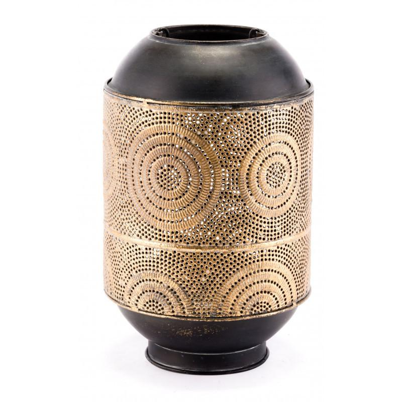 See Details - Small Espiral Candle Holder Antique Gold