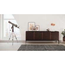 See Details - Corridor SV 7129 Storage Console in Chocolate Stained Walnut