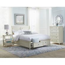 Avignon Ivory Queen Storage Footboard