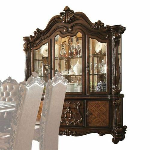 ACME Versailles Hutch & Buffet - 61104 - Cherry Oak