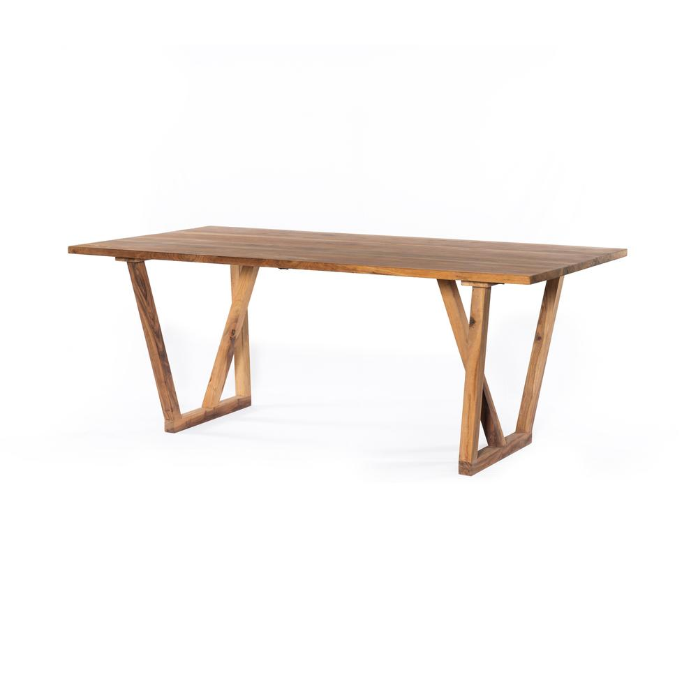 See Details - Cyril Dining Table-natural Reclaimed