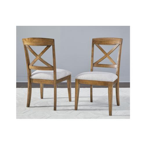 Highland X Back Side Chair
