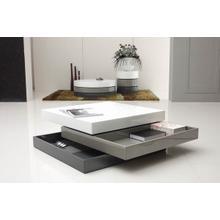 View Product - Modrest Trio-2 - Lacquer 3-Tone Square Coffee Table