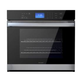Stainless Steel European Convection Built-In Single Wall Oven