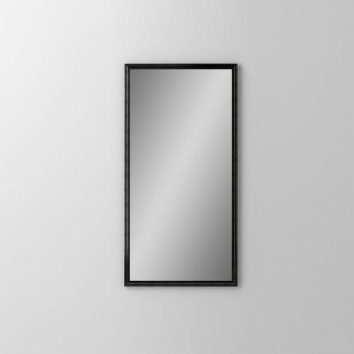 "Main Line 15-1/8"" X 29-7/8"" X 1-5/8"" Rosemont Framed Mirror In Brushed Black"