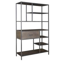 1-Drawer Bookcase/Etagere