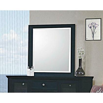 See Details - Sandy Beach Black Dresser Mirror