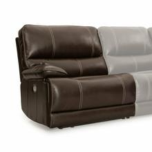View Product - SHELBY - CABRERA COCOA Power Left Arm Facing Recliner