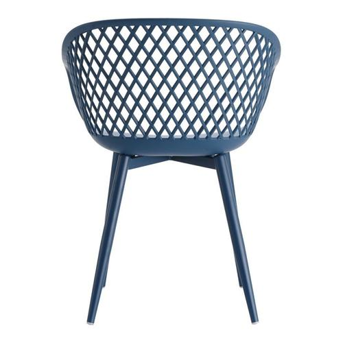 Moe's Home Collection - Piazza Outdoor Chair Blue-m2