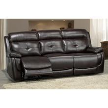 See Details - Power Recliner Sofa - Choclate