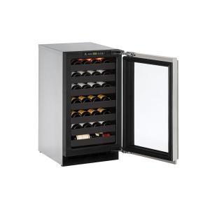 "U-Line2218wc 18"" Wine Refrigerator With Stainless Frame Finish (115 V/60 Hz Volts /60 Hz Hz)"