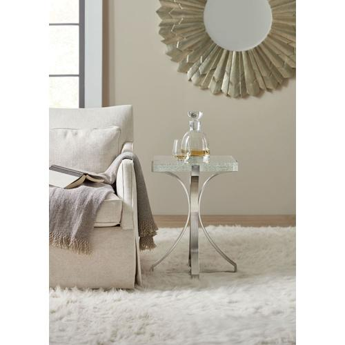 Living Room Bubble Glass Accent Table