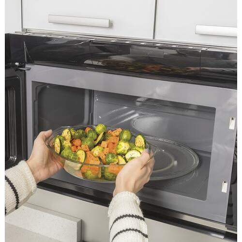 """Haier - 30"""" 1.6 Cu. Ft. Smart Over-the-Range Microwave Oven"""