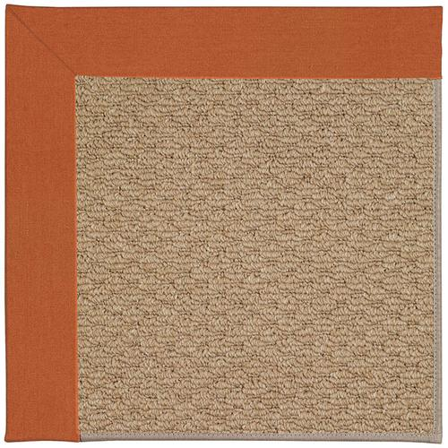 Creative Concepts-Raffia Canvas Rust Machine Tufted Rugs