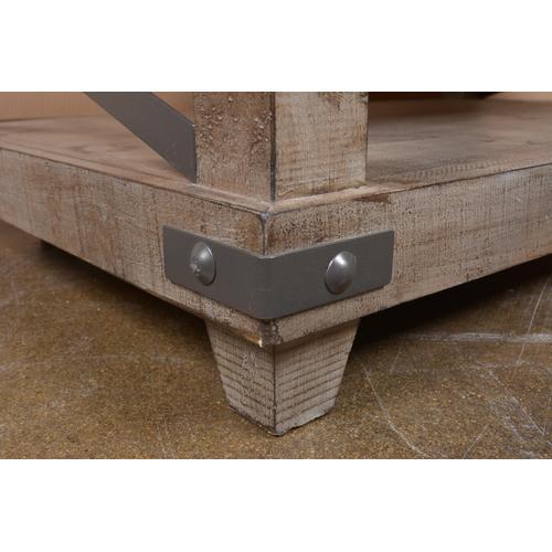 Horizon Home Furniture - Urban Rustic Gray Cktl Table