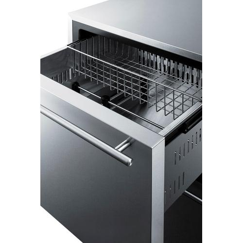 "24"" Wide 2-drawer All-refrigerator"