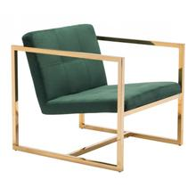 Alt Arm Chair Green & Gold