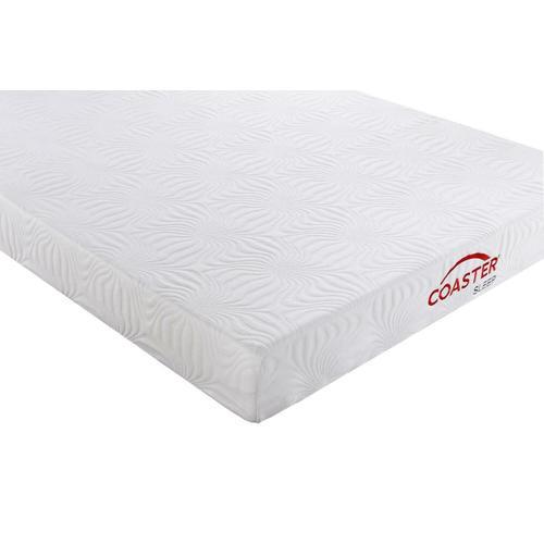 Coaster - Keegan White 8-inch Queen Memory Foam Mattress