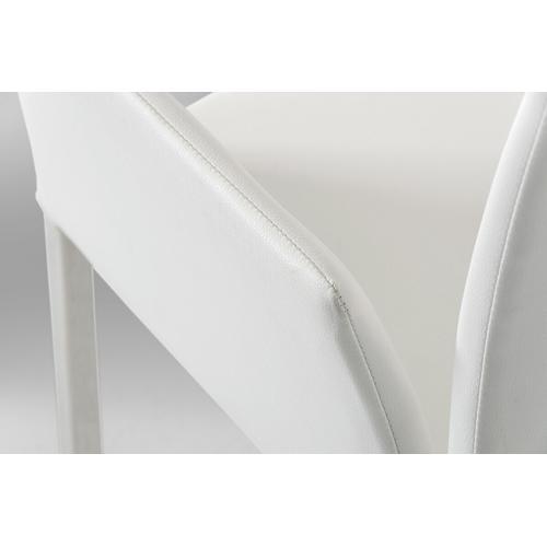 VIG Furniture - Modrest Avril Modern White Leatherette Dining Chair