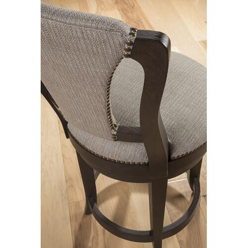 Verbatim Upholstered Swivel Counter Stool